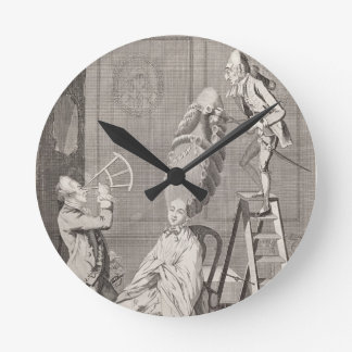 Goût ridicule ou l'absurdité de dames, pub. par horloges