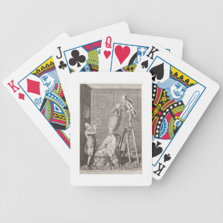 Goût ridicule ou l'absurdité de dames, pub. par jeu de poker