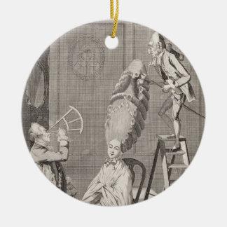 Goût ridicule ou l'absurdité de dames, pub. par décoration de noël