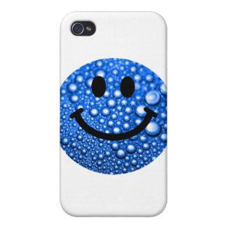 Gouttelettes d'eau souriantes coques iPhone 4