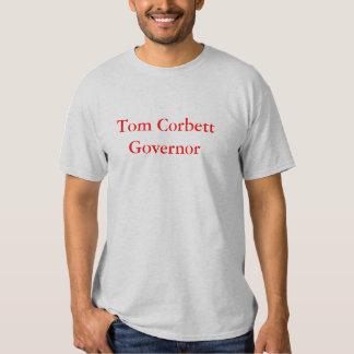 Gouverneur de Tom Corbett T-shirts
