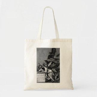Goya le sommeil de la raison produit des monstres sac de toile
