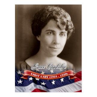 Grâce Coolidge, première Madame des États-Unis Cartes Postales