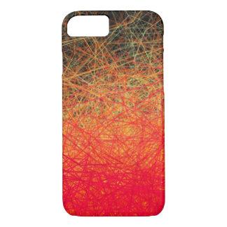 Gradation rouge linéaire - coque iphone d'Apple