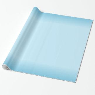 Gradient bleu-clair papier cadeau
