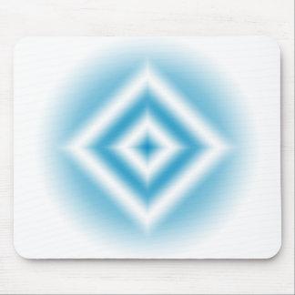 gradient bleu de diamant de Personnaliser-ciel Tapis De Souris