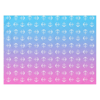 Gradient nautique Girly d'ancre Nappe