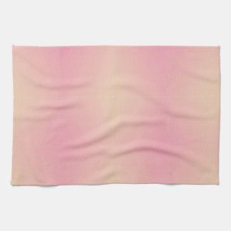 Gradient rose texturisé serviette pour les mains