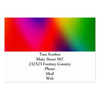 gradients merveilleux 01 colorés carte de visite grand format