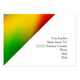 gradients merveilleux 01 colorés cartes de visite professionnelles