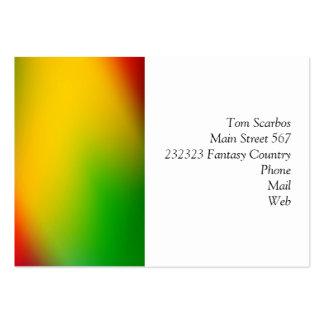 gradients merveilleux 01 colorés cartes de visite personnelles