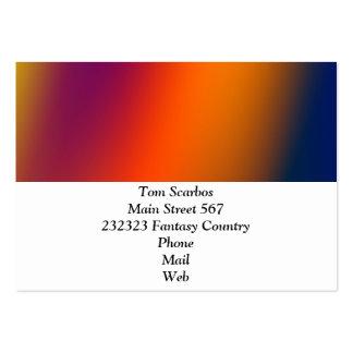 gradients merveilleux 02 cartes de visite personnelles