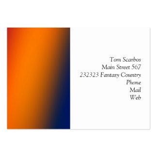 gradients merveilleux 02 carte de visite grand format