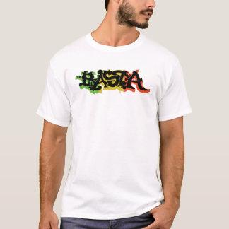 Graf Rasta Shirt avec des couleurs et le noir de T-shirt