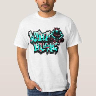 Graff KAT (mise à mort il rouge et bleus de ciel T-shirt