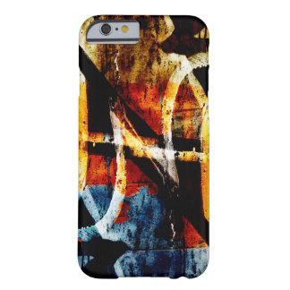 Graffiti abstrait coloré coque iPhone 6 barely there