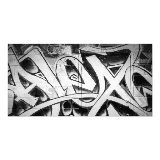 Graffiti (art de rue) Toronto Photocarte Customisée