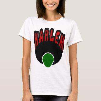 Graffiti de Harlem avec le visage et le grand T-shirt