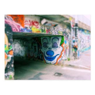 Graffiti de métro - Milan, Italie Carte Postale