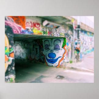Graffiti de Milan Posters