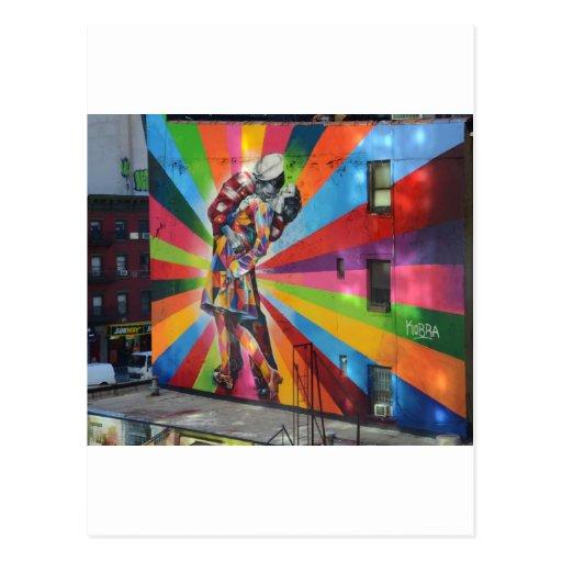 Graffiti de New York Carte Postale
