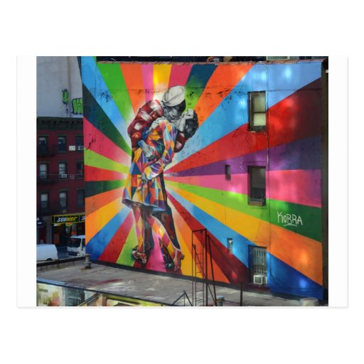 Graffiti de New York Cartes Postales
