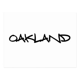 Graffiti d'Oakland Carte Postale