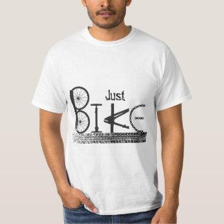 """Graffiti """"juste de vélo"""" des pièces de vélo et des t-shirt"""
