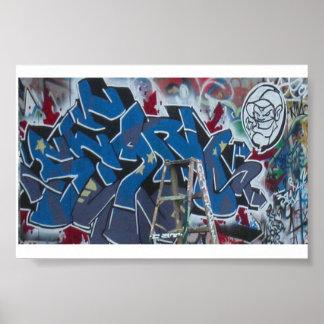 Graffiti par le *th Blues* de Sean Posters