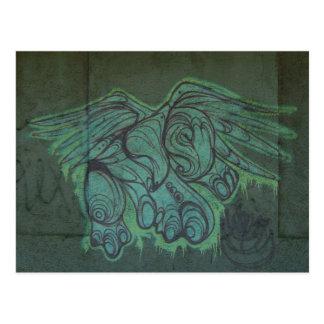 Graffiti San Juan Porto Rico d'Eagle de carte