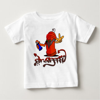 Graffiti T-shirt Pour Bébé