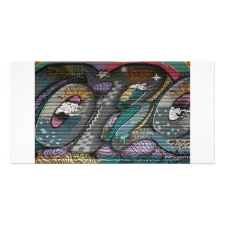 Graffiti taiwanais, Taïpeh, Taïwan Modèle Pour Photocarte