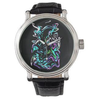 Graffiti urbain montres bracelet
