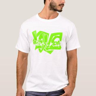 Graffiti vert Chartreuse et au néon d'amour T-shirt