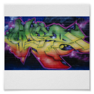 graffiti-vert-conception-affiche posters