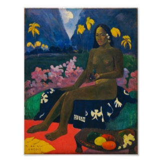 Graine de Gauguin de l'Areoi Posters