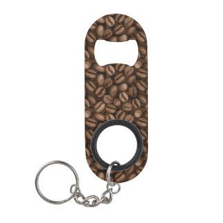 Grains de café porte-clé décapsuleur