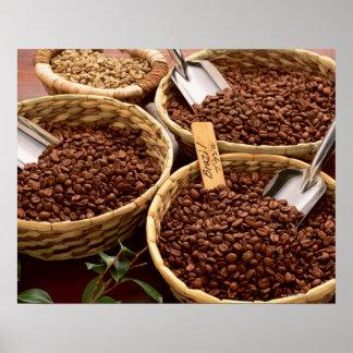 Grains de café posters