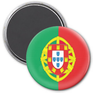 Grand aimant de 3 pouces - drapeau du Portugal