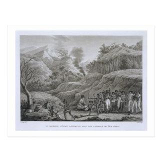 Grand archipel asiatique : Explorateurs français Carte Postale