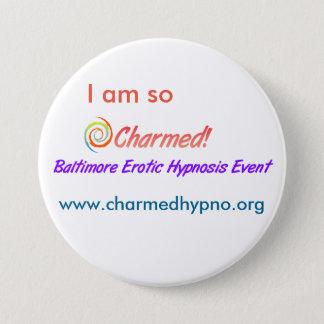 Grand beau bouton badge