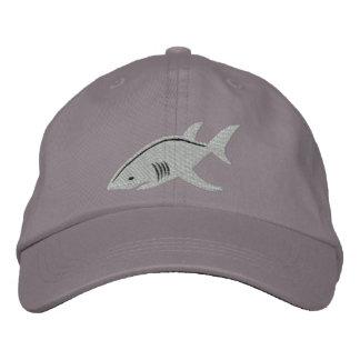 Grand blanc de requin casquette brodée