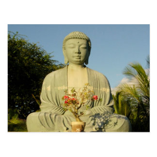 Grand Bouddha à la mission de Lahaina Jodo Cartes Postales