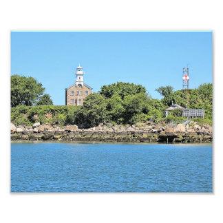 Grand capitaine Island Lighthouse, copie de photo