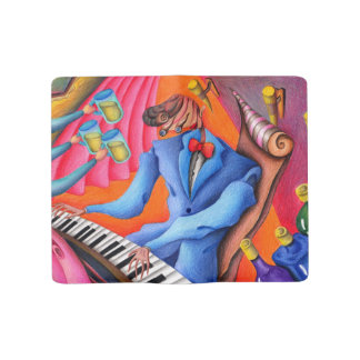 Grand Carnet Moleskine Pianiste de jazz