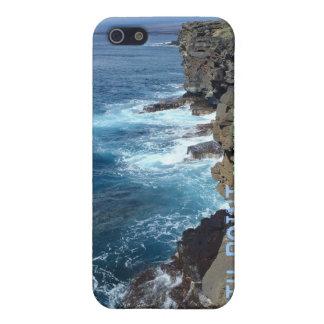 Grand cas de l'iphone quatre d'Hawaï d'île de poin