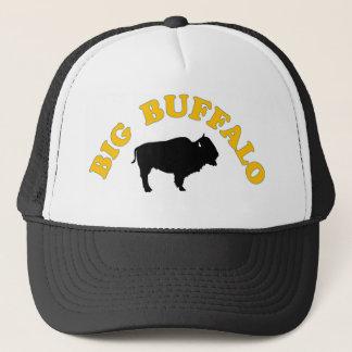 Grand casquette de camionneur de buffle