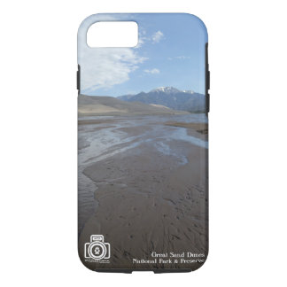 Grand coque iphone de parc national de dunes de