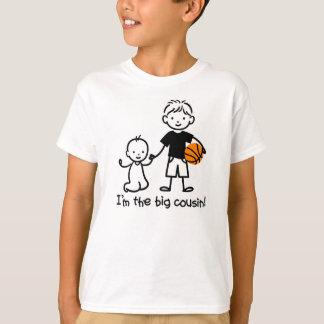 Grand cousin - collez les T-shirts de caractères