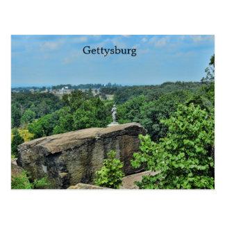 Grand couvercle rond à Gettysburg Carte Postale